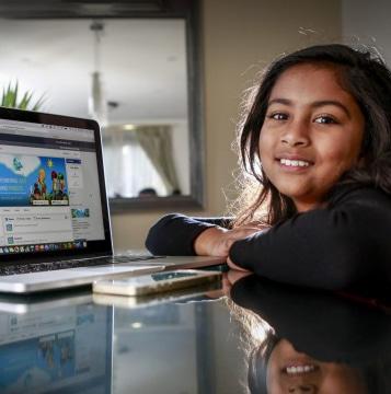 Anvitha Vijay ۳ برنامه نویس موفق نوجوان