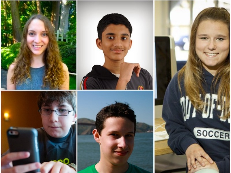 پنج اَپنویس نوجوان
