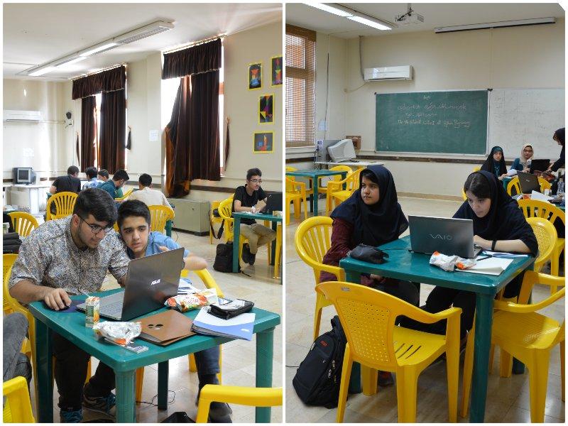 گزارش تصویری چهارمین مسابقه پایتون اصفهان
