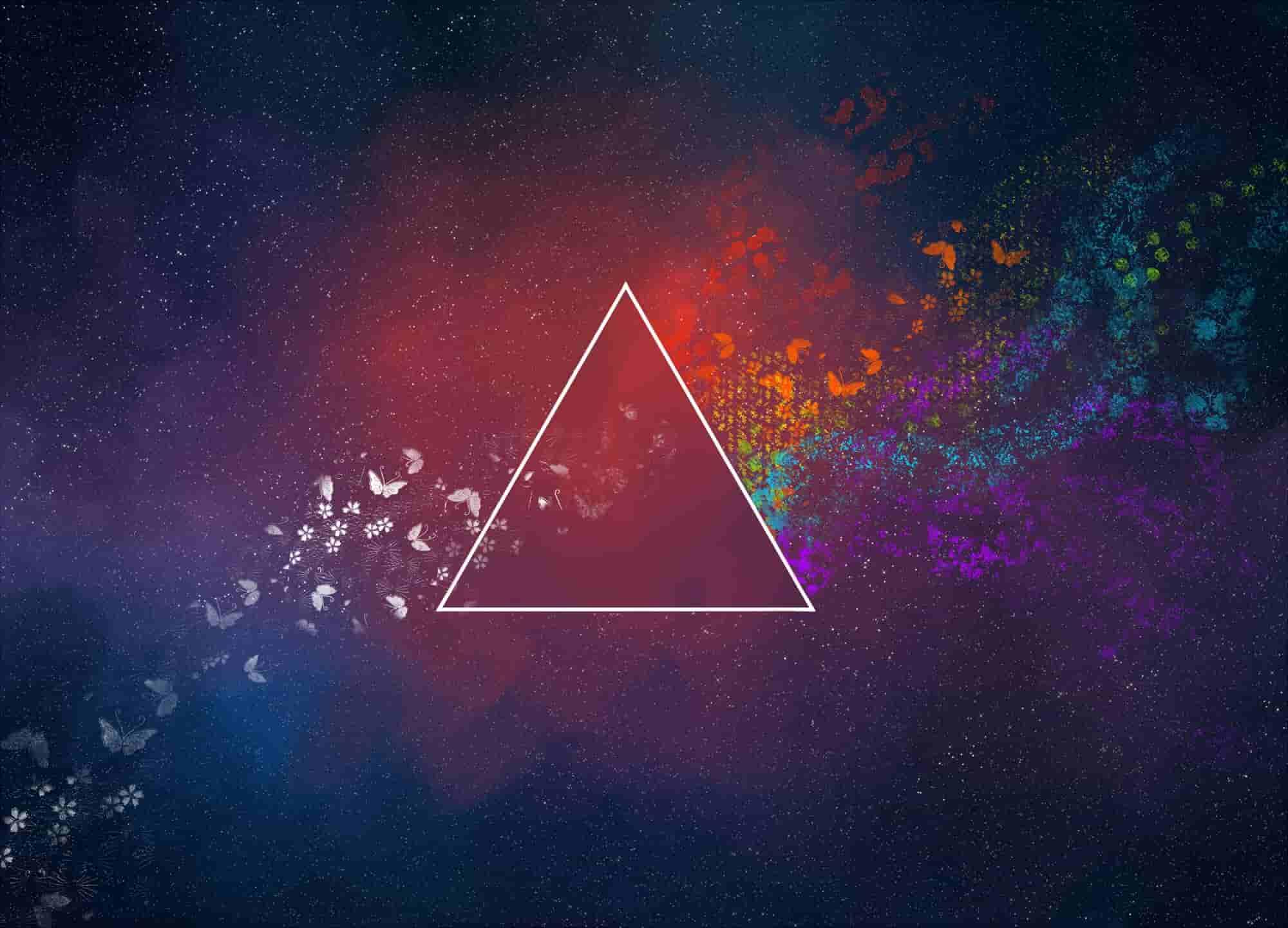 ترسیم مثلث و محاسبه محیط و مساحت آن